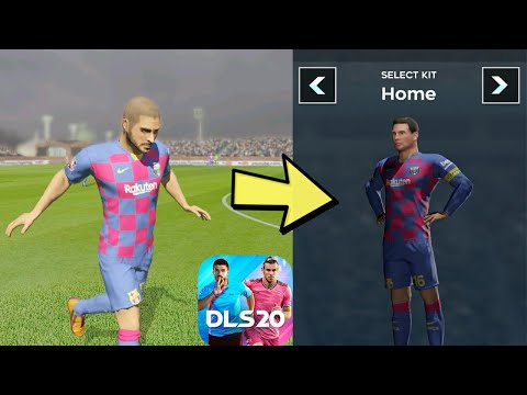 fc barcelona kit dream league soccer 2020