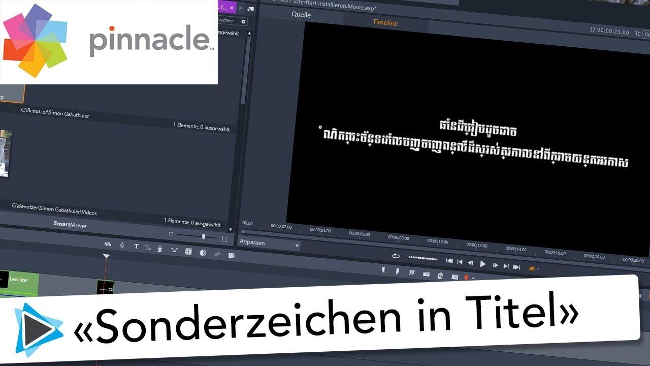 Pinnacle Deutsch