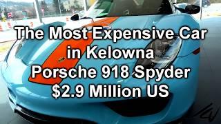 Gulf Porsche 918 Spyder   $2.9 Million US  - Most Expensive New Car in Kelowna