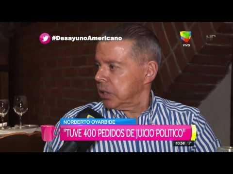 Norberto Oyarbide: Si me sometía al juicio político el partido estaba perdido