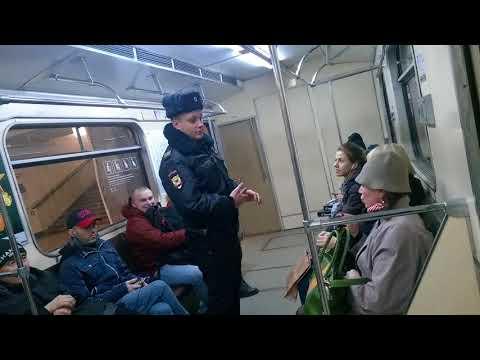 бабка в метро