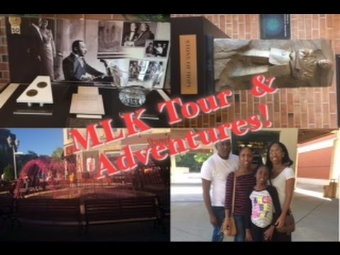 VLOG|| Family visit pt 2...Martin Luther King Jr Center | Suwanee GA