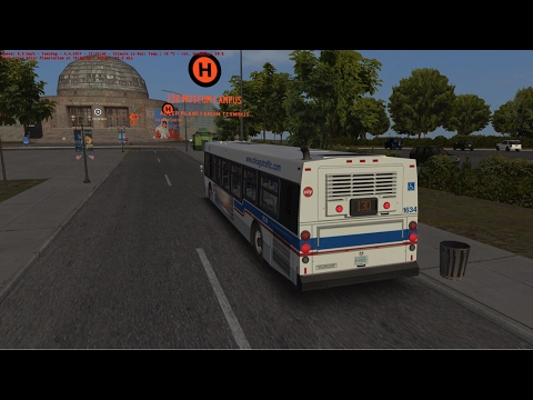 OMSI 2: Steam Edition - (Chicago Downtown Bus Line) - To Museum Campus Terminal