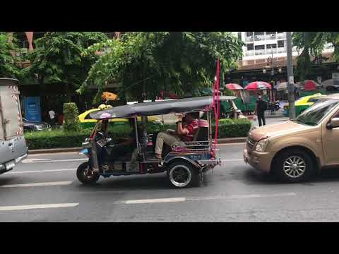 Bangkok , Holiday inn silom , MBK shopping centre 2017