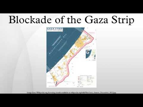 Blockade of the Gaza Strip