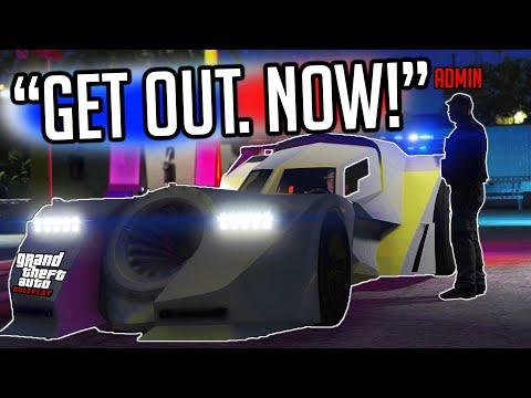 ADMIN ROASTS TROLL for USING BATMOBILE! GTA RP