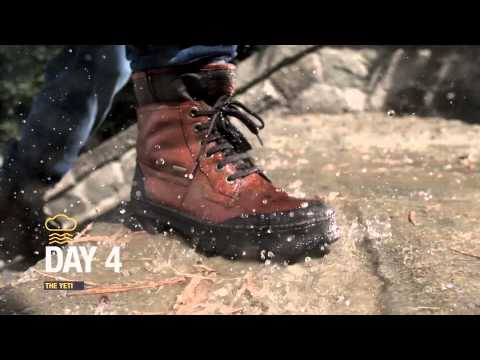 Geox Amphibiox: One Man For 7 Days In Nonstop Rain