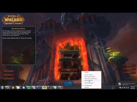 World Of Warcraft As A Non-Steam Game