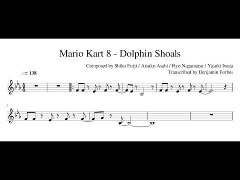 Mario Kart 8 - Dolphin Shoals (Transcription)