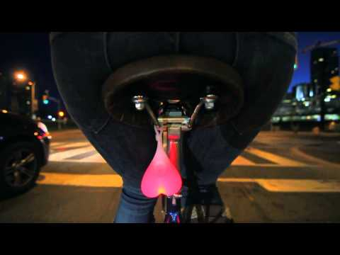 Bike Balls - the World's Most Overconfident Bike Light