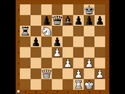 Catalan Opening: V Kramnik vs M Carlsen - Dortmund 2007