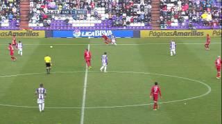 Gol de Víctor (1-1) en el Real Valladolid - RCD Mallorca - HD