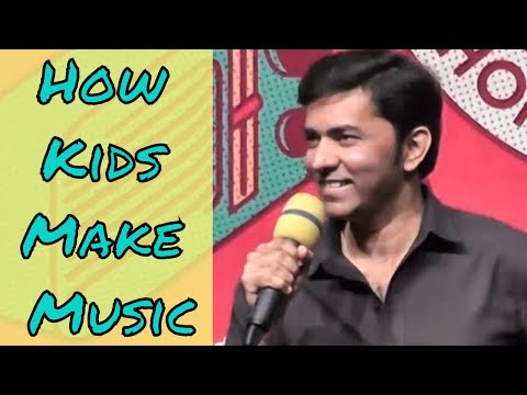 Sajjad Ali LMM'17 Part 2.   How kids make music
