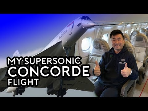 My Supersonic Concorde Flight - Concorde 50th