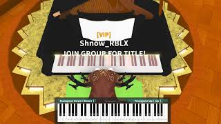 Pewdiepie - Bitch Lasagna on ROBLOX Piano