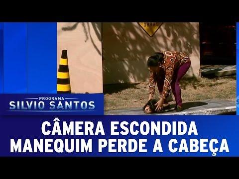 Câmera Escondida (09/10/16) - Manequim perde a cabeça