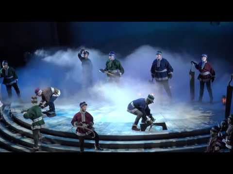 Frozen Song  Frozen Heart – Frozen  at Hyperion Show  Disney land HD