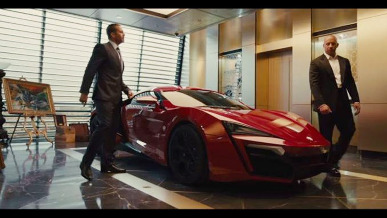 2017 Lykan Hypersport >> Fast & Furious 7 - Lykan Hyper Sport - YouTube