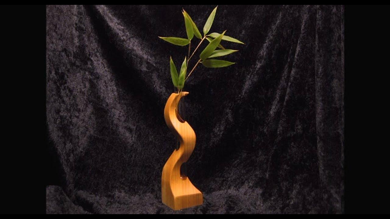 Make A Small Wood Vase Youtube