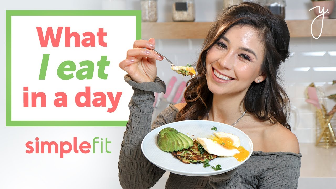 What I Eat in a Day at Work I SimpleFit Recipes  💖