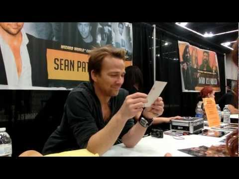 Me meeting Sean Patrick Flanery at Comic con in Portland