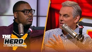 Chris Jones isn't a fan of proposed new CBA, talks Mahomes, NFL Combine wardrobe slip up | THE HERD