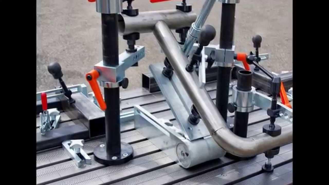 F 214 Rster Schweisstisch System Welding Table System Jigs
