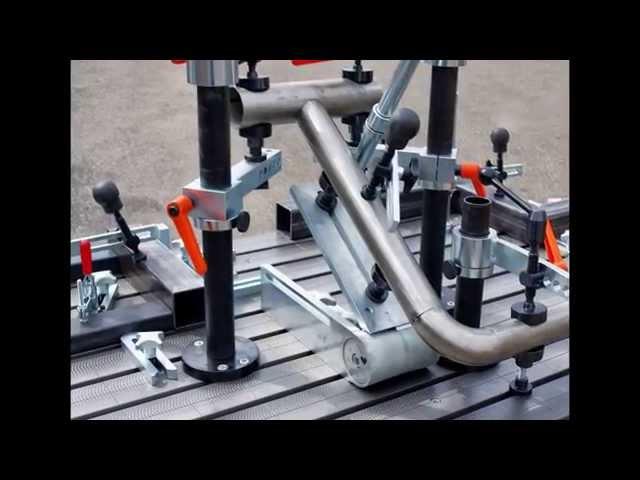 FÖRSTER SCHWEISSTISCH SYSTEM - WELDING TABLE SYSTEM - JIGS & FIXTURES