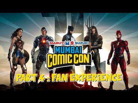 Justice League Zone & Fan Experiences at Mumbai Comic Con 2017