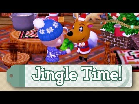Journal - Animal Crossing New Leaf | JINGLE TIME!