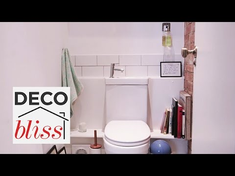Top tips for styling a small toilet real home lookbook s e
