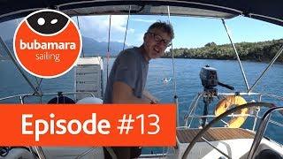 Bubamara sailing. episode #13. Необитаемый остров / Уроки рыбалки / Мы потерялись