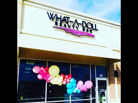 What-A-Doll Beauty Bar   Salon Tour   My Salon   A Place For Boss Chics Only