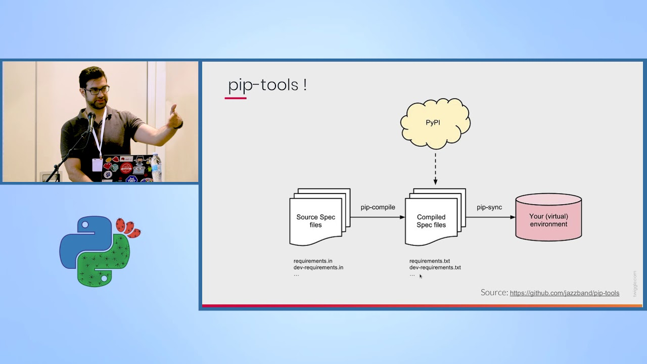 Image from Pipenv - The Python Companion You Wish You Always Had - Avi Aminov - PyCon Israel 2019