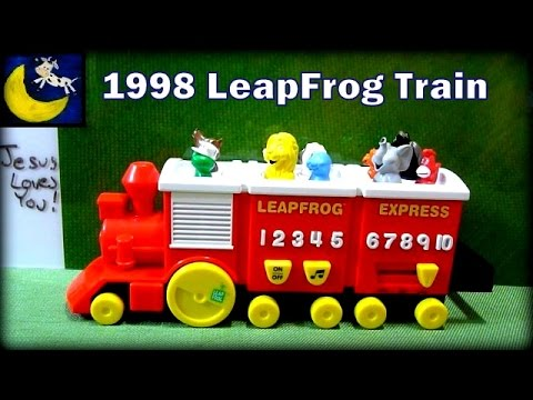 Vintage 1998 LeapFrog Express Learning Train Review
