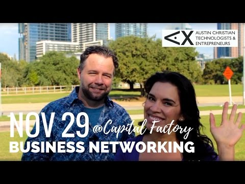 John Diehl for Austin Christian Technologists & Entrepreneurs, Nov 29 Event