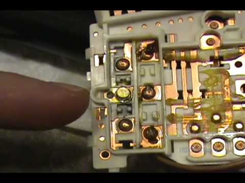 For Old Light Switch Wiring Diagram Toyota Corolla Turn Signal Switch Repair Youtube