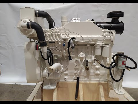 Complete Engine 6CTA8.3 Cummins Marine Application 78895781, 78895782