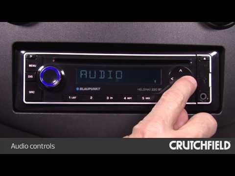 Blaupunkt Helsinki 220 BT Display and Controls Demo | Crutchfield Video