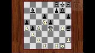 """Шахматные комбинации: """"Связка"""""""