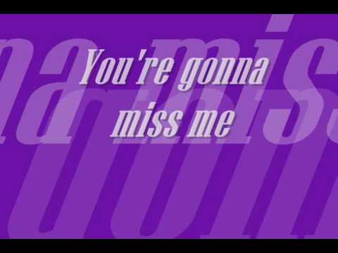 kenne wayne-ur gonna miss me