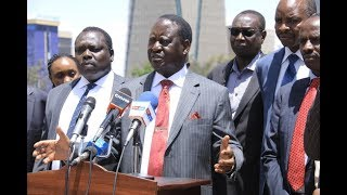 Raila maintains referendum will happen in 2019, warns those against | Press Review