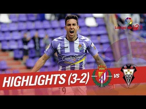 Resumen de Real Valladolid vs Albacete Balompié (3-2)