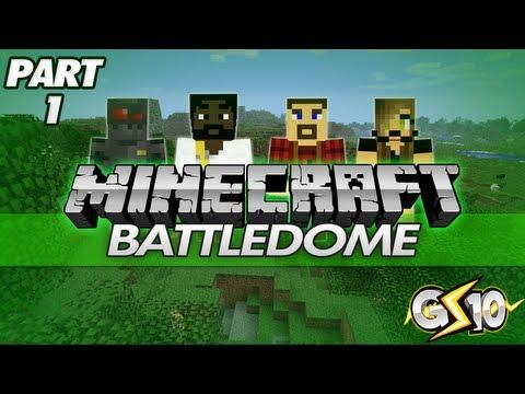 Minecraft: UHC Battle-Dome w/ Graser & Friends! (Part 1)