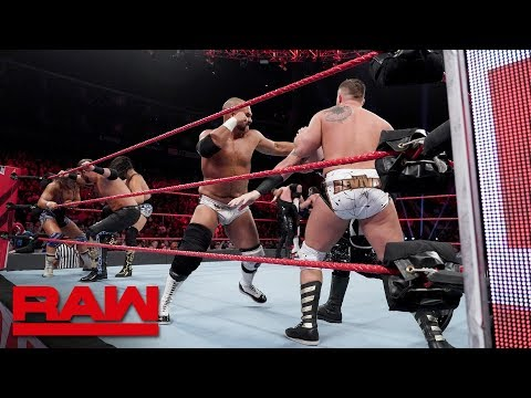 Tag Team Battle Royal - Winner Captains Raw Tag Division Survivor Series Team: Raw, Nov. 12, 2018