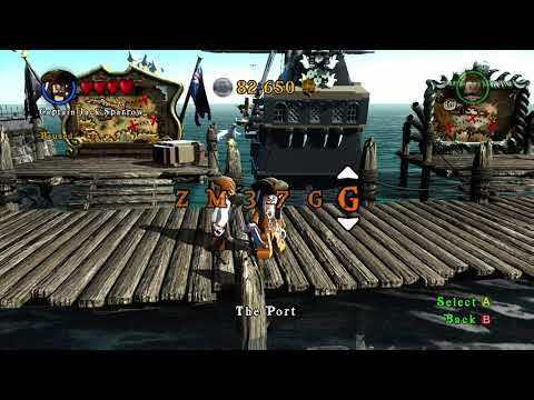 LEGO Pirates Of The Caribbean: ALL CHEAT CODES: Part1
