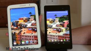 Google Nexus 7 (2013) vs. Samsung Galaxy Note 8.0 Comparison Smackdown
