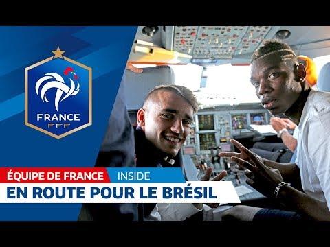 Equipe de France, Coupe du monde 2014: Le voyage au Brésil avec les Bleus ! I FFF 2014