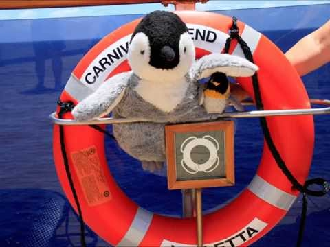 Carnival Legend Phil and Pengie adventure 2014/15