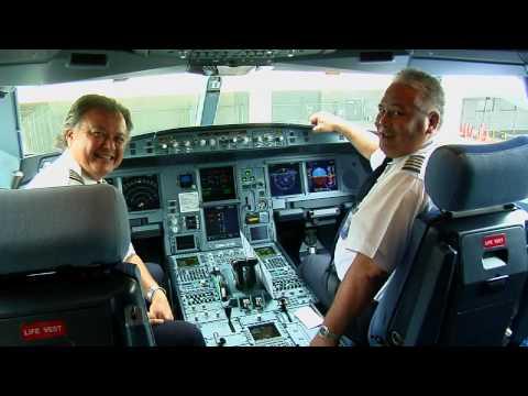 Hawaiian Airlines Airbus A330-200 Inaugural Flight